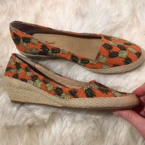 Lucky Brand Shoes - NWOT Lucky Brand Pineapple Espadrilles Wedges